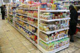 9_polc sziget_üzletberendezés_élelmiszerbolt